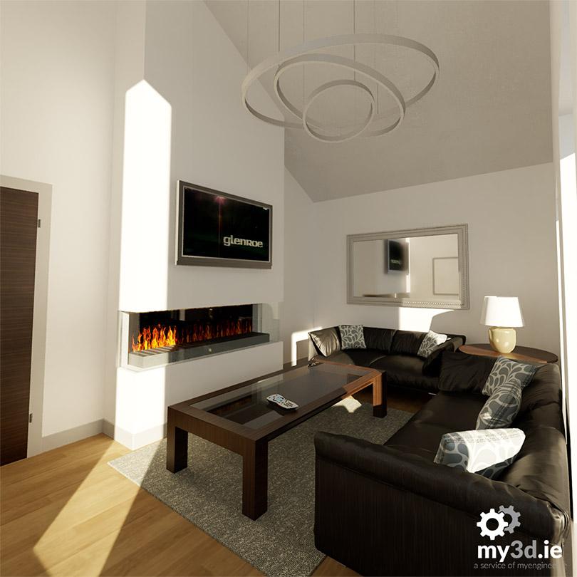my3d.ie living room rendering
